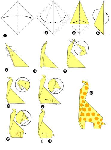 Оригами из бумаги для начинающих