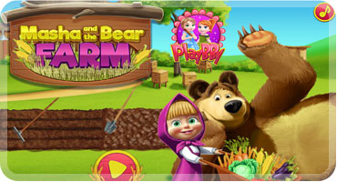 Masha and the Bear - Farm